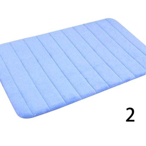 Weiche Memory Foam Home Bad Schlafzimmer Badematte Boden Non Slip,NEU