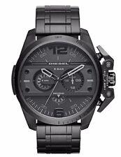 Diesel Ironside DZ4362 Men's Black Dial Chronograph Black Ion Plated Watch