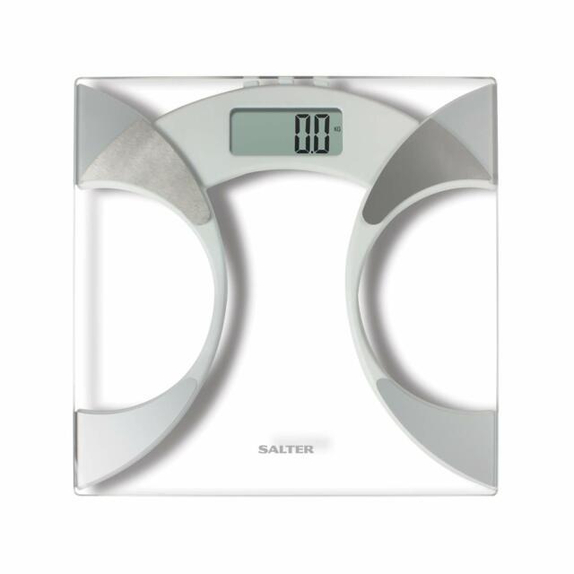 Ultra Slim Analyser Bathroom Scales Measure Weight BMI BMR Body Fat Percentage B