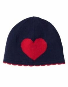 Gymboree Baby Girl Navy Heart Sweater Beanie Hat NWT 0-3 3-6 6-12 12-18 18-24 Mo