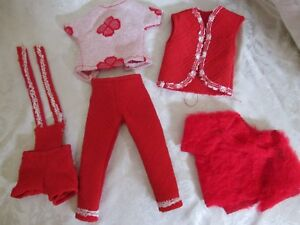 Lot Of 13 Vintage 1960 S Home Made Barbie Clothes Ebay