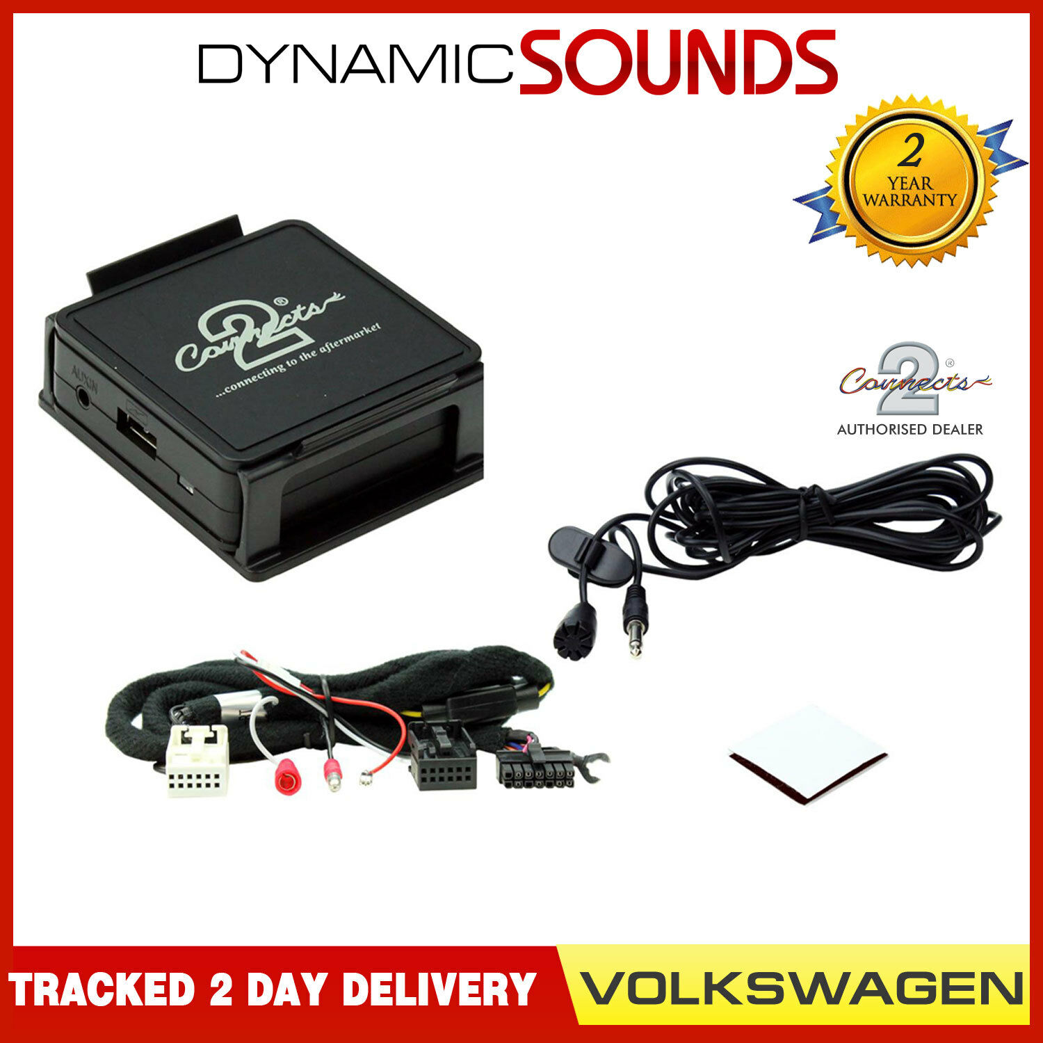 Aux 3.5mm Adaptor VW Touareg 2005 on Connects2 CTAVGUSB009 USB