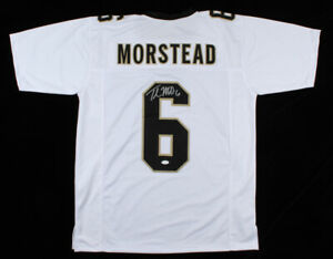 Details about Thomas Morstead Signed Saints Jersey (JSA COA) New Orleans Punter since 2009