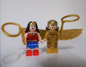Lego Wonder Woman 76097 Blue Skirt Justice League Super Heroes Minifigure