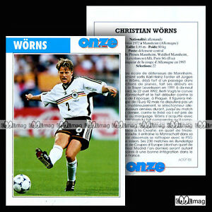 WORNS-CHRISTIAN-PSG-PARIS-SAINT-GERMAIN-Fiche-Football-1998