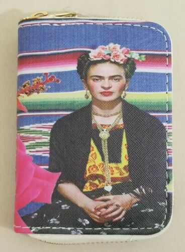 2 sided image Adorable Frida Kahlo Inspired Small Wallets