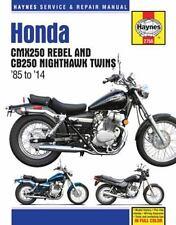 Honda CMX250 Rebel and CB250 Nighthawk Twins '85-'14 (Haynes Service & Repair Ma