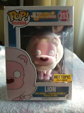 Rare Funko Pop Cartoon Network Steven Universe Flocked Lion Hot Topic 213 For Sale Online Ebay