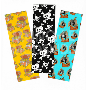 Book Reading School Party Bag Fillers Pack Sizes 6-48 Pirate Bookmarks