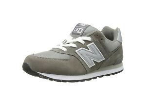 super popular 79a2a 5cf41 Details about New Balance 574 Classic (GS) Kids' Running Shoes KL574GSG -  Gray