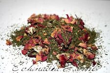 SPEARMINT & ROSE HERBAL LOOSE TEA * 4 OZ. * ORGANIC CAFFEINE FREE