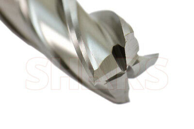 21MM Dia.Standard Length 4 Flute Bright M42 Cobalt Center Cutting End Mill,