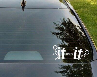 F*** U You Funny Car Window Laptop Vinyl Decal Sticker Choose Color /& Size