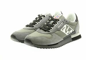 official photos 42a77 90b73 Dettagli su SCARPE NAPAPIJRI NA4DWF-H90 9FVIRTUS01/RIP GREY CASTLEROCK  SNEAKERS UOMO FASHION