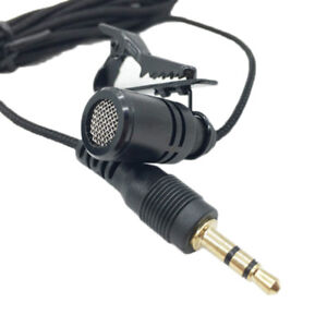 Clip-on-Lapel-Mini-Lavalier-Mic-Microphone-3-5mm-For-Smart-Phone-PC-Recording