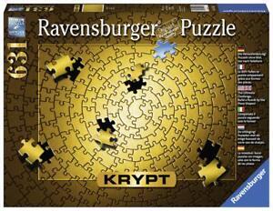 100% Vrai Ravensburger Krypt Or 631 Piece Jigsaw Puzzle