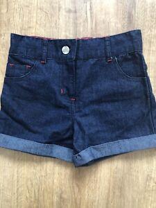 store-twenty-one-Size-7-Years-Girls-Blue-Denim-Shorts