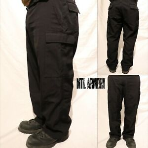 Canadian-Forces-Black-Navy-Combat-Nomex-Pants-Many-Sizes-Canada-Army