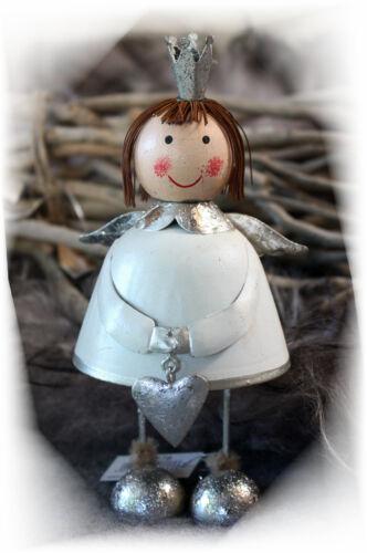 Ganz Zauberhafter Engel Weihnachten Deko-Figur Shabby chic Landhaus Herz Stern