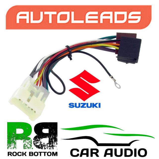 Autoleads PC2-41-4 Suzuki Grand Vitara 98 Car Stereo ISO Lead Adaptor Connector