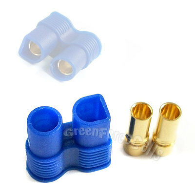 20 pcs Female EC3 3.5mm Gold Banana Bullet Connector Plugs For RC Lipo Battery