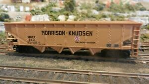 Bachmann-HO-Morrison-amp-Knudsen-Quad-Hopper-Exc