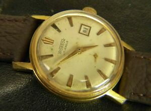 Vostok-wostok-Date-USSR-Russian-wristwatch-17-jewels-2605-cal-gold-plated