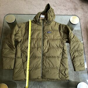 PATAGONIA Silent Down Jacket Cargo Green MENS LARGE MSRP ...