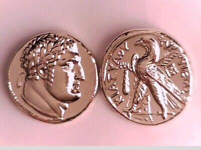 87-S Judas/' 30 Pieces of Silver Roman Coin * 1 Coin * Shekel of Tyros Coin