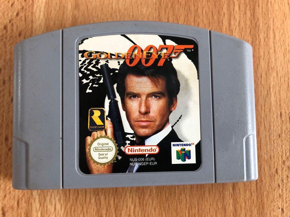 Goldeneye 007, N64, FPS