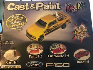 paint for adults Cast models and