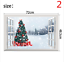 thumbnail 2 - 3D Merry Christmas Wall Decals Removable Window Stickers Decor DIY Art Xmas  *
