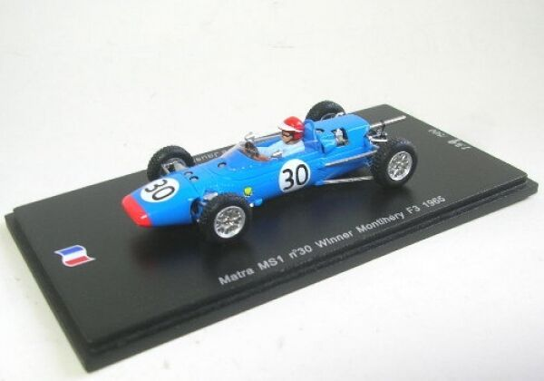 MATRA ms1 No. 30 winner MONTLHERY f3 1965