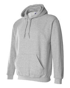 7 Gildan Navy Adult Hooded Sweatshirts Bulk Wholesale Lot S-XL Hoodie Jumpers