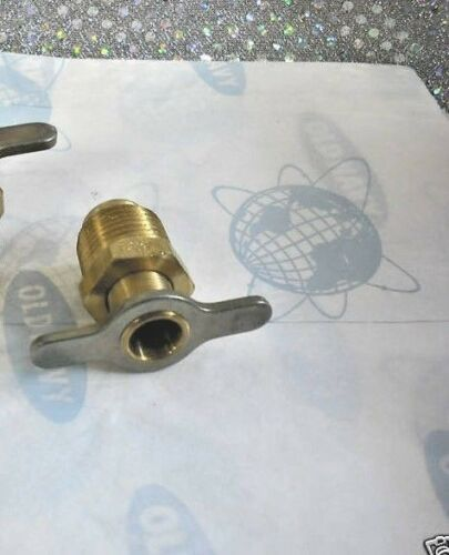 AIR COMPRESSOR DRAIN Tank Drain Valve 1/2 NPT, part# 09432-08