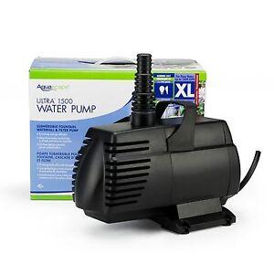 Amazing Image Is Loading Aquascape Ultra 1500 Fountain Amp Pond Pump 91009