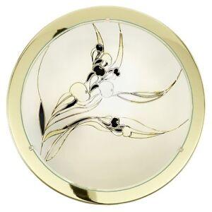 Plafonnier-Design-Rondelle-Lampe-suspension-Couleur-laiton-Lustre-moderne-54978