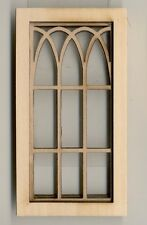 Bridge Design 2199 wooden dollhouse miniature 1:12 scale USA made Window
