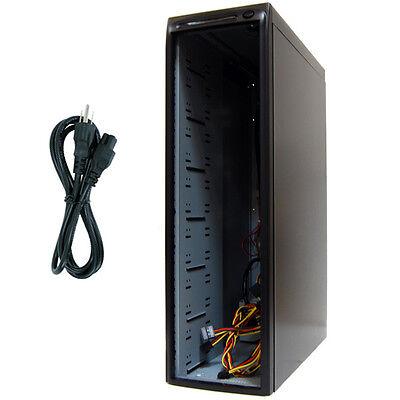 USED 13 Bay (1-11 Drives) SATA CD DVD Duplicator Copier Enclosure Case Tower