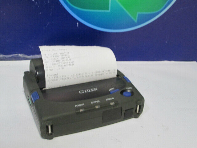 CITIZEN LINE THERMAL MOBILE BLUETOOTH USB PRINTER PD-24