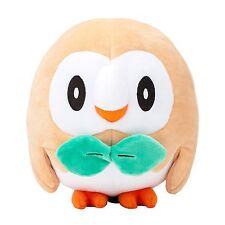 "Pokemon Sun and Moon Rowlet Plush Toy - 6.5"""