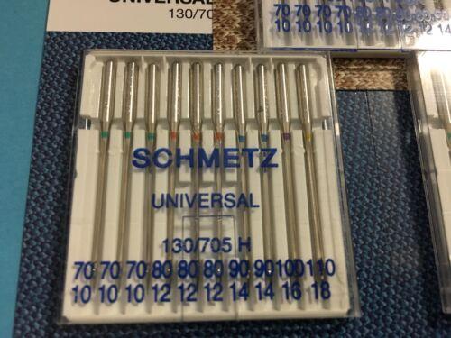 30 Aiguilles Schmetz 130//705 H Résistance 70-90 Jersey-Uni 70-110