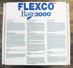"4 PACK FLEXCO 2000 Rubber Vinyl Floor Base CORNER MOLDING 4/"" x 1//8/"" GRAYSTONE"