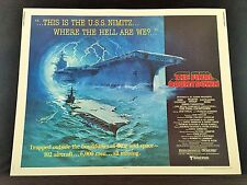 Original 1980 THE FINAL COUNTDOWN Half Sheet Movie Poster 22 x 28 Douglas Sheen