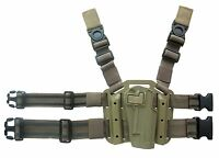 Dlp Tactical Autolock Serpa Style Drop Leg Tactical Thigh Holster For 1911