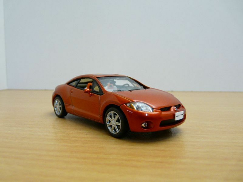MITSUBISHI ECLIPSE Orange 1 43