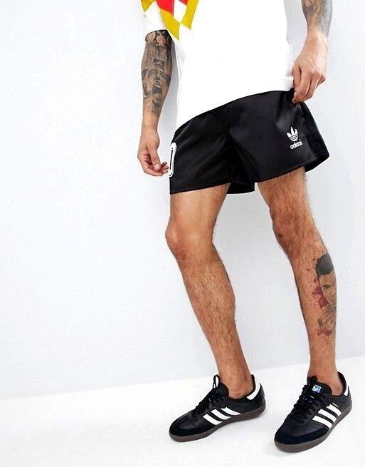Men New adidas retro silky shiny nylon nylon nylon sprinter ibiza shorts football vtg 90s   Geeignet für Farbe    Neuheit Spielzeug    Exzellente Verarbeitung  0bf75c