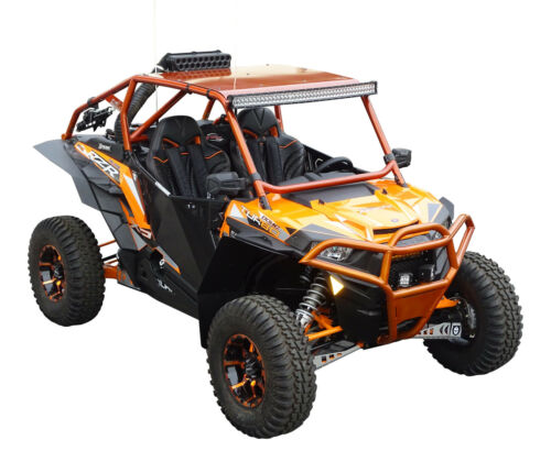 Front /& Rear MudBusters Fender Extensions for Polaris RZR XP 1000 and Turbo