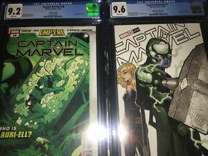 2 Captain Marvel Books - #18 CGC 9.2 & #12 CGC 9.6