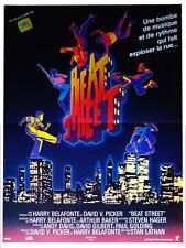 Affiche 120x160cm BEAT STREET 1984 Stan Lathan/ Harry Belafonte - Guy Davis